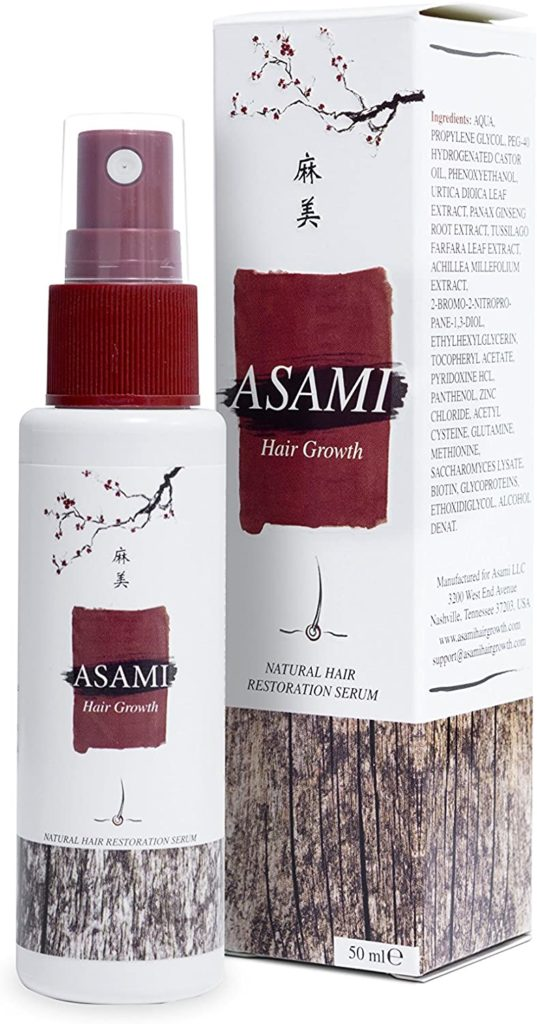 Asami Hair Growth pieteikums